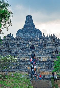 Don't miss visiting the ancient Borobudur Temple when in Java, Indonesia. It's one of the most amazing things to do in Indonesia. Get tips on how to get there, taking a tour, where to stay, and more! Put this on your Asia travel bucket list! #Asia #Indonesia #Borobudur #travel #temple #temples #southeastasia