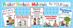FREE Printables for teachers and homeschooling parents. Grades 1-3
