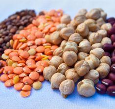 Koktider, olika bönor och linser