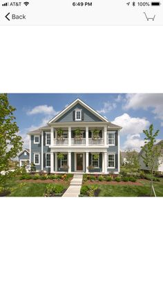 Sherwin Williams - SW) Trim is Alabaster Lap Siding Slate Tile are Inkwell Exterior Paint Sherwin Williams, House Paint Exterior, Brick Exteriors, House Exteriors, Blue Houses, Exterior Remodel, Color Tile, House Projects, Exterior Colors