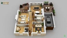 ICYMI: india.sebule.com : Modern Innovative 3D Floor Plan by Architectural and Design Services,Ohio-USA, Bhārat