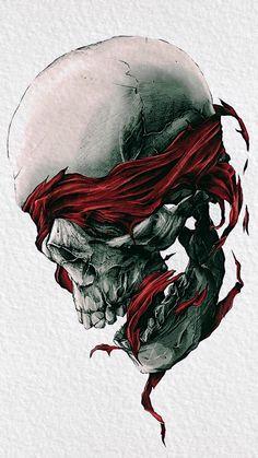 Tattoo Drawings, Tattoos, Tattoo Art, Skull Art, Ink Art, Weird, Skulls, Wallpaper, Illustration