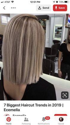 New hair balayage blonde fall 15 Ideas Medium Hair Styles, Short Hair Styles, Pinterest Hair, Pinterest Makeup, Pinterest Fashion, Brown Blonde Hair, Great Hair, Balayage Hair, Gorgeous Hair