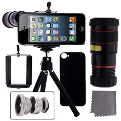 iPhone 5 /5S Camera Lens Kit Accessories Attachments Photography Cell Phone