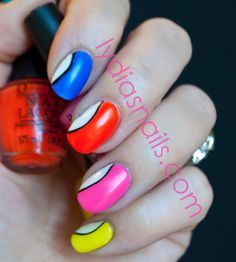 Lydia's Nails: OPI Neon Revolution Matte