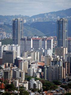 Parque Central en la Ciudad de Caracas _ Venezuela