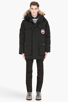 CANADA GOOSE Black Expedition down jacket