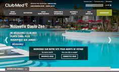 Site web Club Med dédié pour agents de voyages
