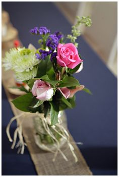DIY Centerpiece Diy Centerpieces, Table Decorations, Centre Pieces, Diy Wedding, Country, Pretty, Flowers, Plants, Beauty