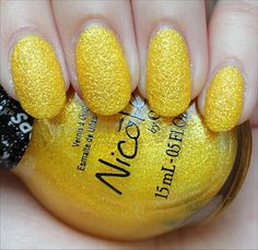 Nicole by OPI Lemon Lolly Swatch, Review & Photos