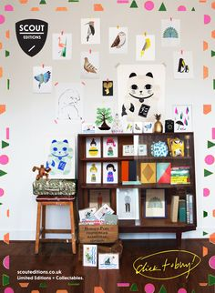 Supermarket Sarah Presents: Scout Editions http://www.supermarketsarah.com/wall.php?wall=115