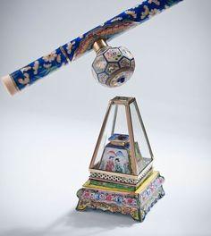 Opium Pipe and Lamp