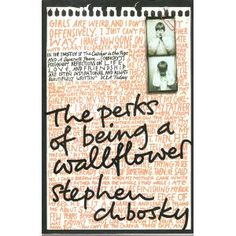 The Perks of Being a Wallflower by Stephen Chbosky. This book is perfect and will leave you hugging the book and crying. At least that's what it did to me. Ya Books, Good Books, Books To Read, This Is A Book, Love Book, Dream Book, Reading Lists, Book Lists, Reading Room