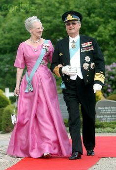 Queen Margrethe and Prince Henrik