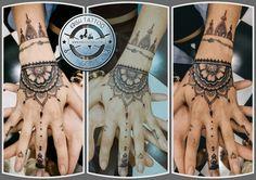 Henna Mehendi Inspired Tattoo