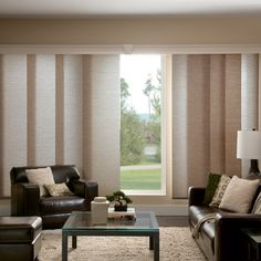 Window Treatments for Sliding Doors - sliding panels