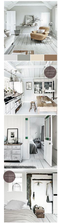 Apartment 34 | Hot House, Cool Color Palette