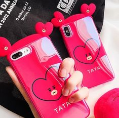 Mochila Kpop, Mochila Do Bts, Kawaii Phone Case, Cute Phone Cases, Iphone Cases, Korea, Apple Technology, Mode Kawaii, Airpod Case