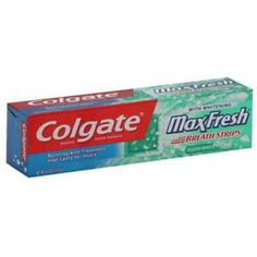 Colgate Toothpaste With Mini Breath Strips, Clean Mint-6 Ounces