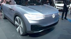 all-new Volkswagen Electric Crossover. ID Cross Shanghai auto show