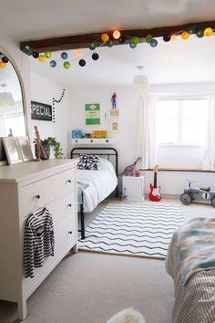 Our Twin Bedroom Makeover Monochrome Kids Bedroom Decor Slapen Childrens Bedroom Furniture, Boys Bedroom Decor, Boys Shared Bedroom Ideas, Old Room, Monochrome, Twin Boys, Twins, Home Decor, Kitchen Furniture