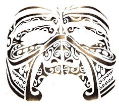 Tatouage visage Maori. - Photos tahiti, art et humours Like this.