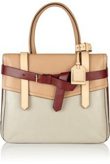 Reed Krakoff | Boxer 1 tri-tone leather tote | NET-A-PORTER.COM Shared by Where YoUth Rise