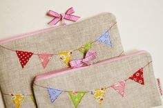 Bunting Bags Pouches