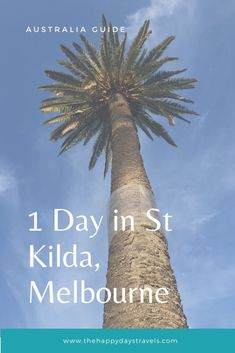St Kilda Day Trip from Melbourne - The Happy Days Travels Travel Goals, Travel Advice, Travel Guide, Solo Travel, Asia Travel, Melbourne Suburbs, Dubai Skyscraper, Working Holidays, Thing 1