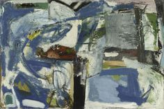 Peter Lanyon - St Ives Bay (1957)   Oil on board  122 x 168 cm