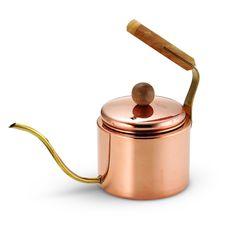 Asahi Japanese Drip Coffee Copper Kettle, 1.0L