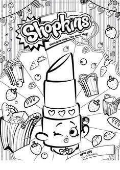 shopkins batom printable coloring pagesfree - Free Printable Coloring Page