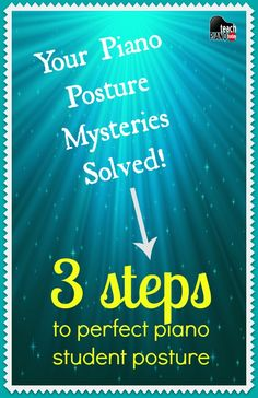 3 fun ways to get your piano kids to remember the most important piano posture tips (no more nagging ;)   teachpianotoday.com #pianoteaching #pianostudio