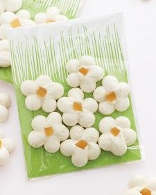 Lemon Meringue Flowers - Martha Stewart Recipes