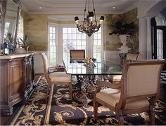 [Blog with Design Tips] Pinterest's 10 Most Glamorous Interiors with Aubusson Rugs