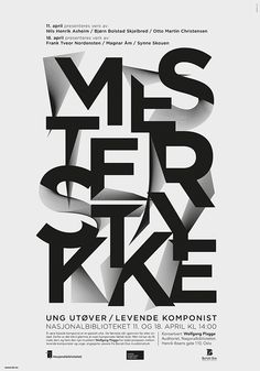 MESTERSTYKKE on Behance