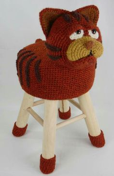 42 Beste Afbeeldingen Van Dieren Krukken Stool Crochet Animals En