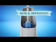 NEW & IMPROVED Norwex Ergonomic Toilet Brush and Holder - YouTube