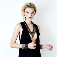 SOLLIS jewellery TULA necklace and KOGO earrings. http://WWW.SOLLISJEWELLERY.COM