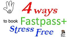 4 Ways to book Fastpass+ stress free Disney World Planning, Disney World Vacation, Disney Vacations, Walt Disney World, Disney Fast Pass, Orlando Travel, Planning And Organizing, Disney Tips, Stress Free