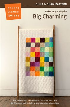 Big Charming Quilt Pattern by Denyse Schmidt – Fridays Off