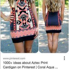 Dress Tribal dress Dresses Mini