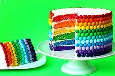 receta tarta arcoiris thermomix