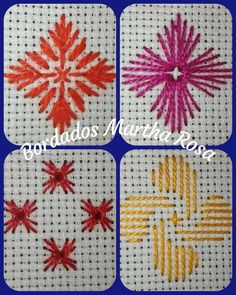 German Knotted Blanket Stitch (Step By Step & Video) Hardanger Embroidery, Hand Embroidery Stitches, Hand Embroidery Designs, Diy Embroidery, Cross Stitch Embroidery, Embroidery Patterns, Cross Stitch Patterns, Stitch Book, Needlepoint Stitches