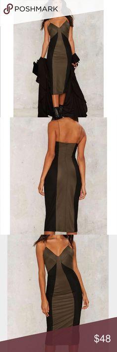 🛑2️⃣ Midi way through dress Midi way through dress by Rare London Rare London Dresses Midi
