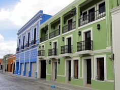 One of my favorites of Merida Mexico. I love the contrast between the blue and green