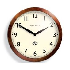 Wooden Billingsgate Wall Clock $599 - A beautiful timepiece with clear, easy-to-read face and 'timeless' design.