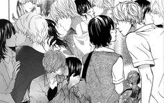 kyouya and erika kisses