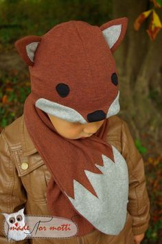 Der Fancy Fox ist da - als Freebook! - Website von Vivi's Fancywork (Diy Ropa)
