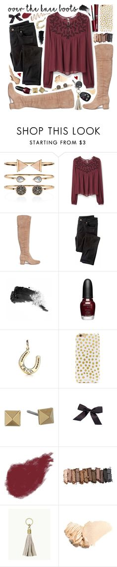 """OVER THE KNEE BOOTS FOR FALL! Contest Entry"" by melissssaa ❤ liked on Polyvore featuring Accessorize, MANGO, Sam Edelman, Wrap, Nisan, Benefit, Sephora Collection, BaubleBar, Marc by Marc Jacobs and Bobbi Brown Cosmetics"